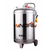 Buy cheap Stainless Steel Tank Mobile Spray Foam Washing Machine with 60L Tank from wholesalers