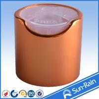 Buy cheap Multi color Cosmetic Plastic Bottle Cap , Non spill plastic jar caps from wholesalers