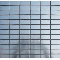 Buy cheap bathroom&wall luxury decorative stainless steel mosaic tiles from wholesalers