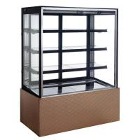 Buy cheap Stainless Steel Base Refrigerated Cake Display Cabinets Fast Refrigeration,510L 1200mm Three-layers Cake Showcase product