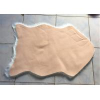 Buy cheap Home Living Room Fluffy Faux Fur Rug , Anti Slip White Faux Fur Area Rug  from wholesalers