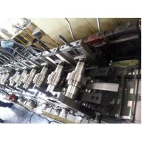 Buy cheap Galvanized Metal Roll Forming Machines / Pallet Rack C Z Purlin Roll Forming Machine product