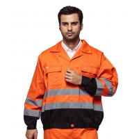 Buy cheap Outdoor Twill Fabric High Visibility Work Uniforms With Multi Pockets EN ISO 20471 from wholesalers