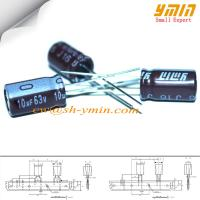 Buy cheap 10uF 63V 5x9mm Capacitor LK Series 105°C  6,000 ~ 8,000 Hours Radial Lead Aluminum Electrolytic Capacitor RoHS from wholesalers