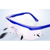 Buy cheap HD Blue Eyebrow Telescopic Auto Darkening PPE Safety Goggles product