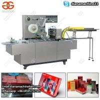 Buy cheap Transparent Film Automatic Perfume Box Cellophane Wrapping Machine for Boxes from wholesalers