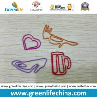 Buy cheap Fashionable Cup Bird Heart Shoes Shape Custom Paper Metal Clips from wholesalers