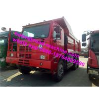 Buy cheap 371HP Any Color Q235 Steel Off-Road Sinotruck HOVA 6 x 4 Mining Dumper Truck from wholesalers