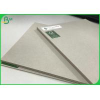 Buy cheap 100% Recycled Paper Board Grey Laminated Sheets 1.7mm 2.5mm Pressed Board from wholesalers