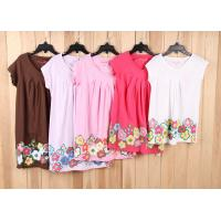 Buy cheap child brand clothes-6000 pcs cheap Children & kid's Girl Casual tops Tee dress stock lots from wholesalers