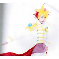 Buy cheap Yellow Red YuGiOh Boys Custom Cosplay Wigs for Cold Water from wholesalers