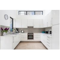 Buy cheap High Quality Australia Modern White Kitchen Pantry Cupboards Kitchen Cabinets from wholesalers
