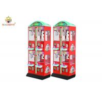 Buy cheap Red Attractive Gift Prize Doll Stuffed Toy Vending Machine For Family Fun from wholesalers
