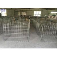 Buy cheap Galvanized Steel Welded Mesh Gabions , Wire Mesh Gabion Basket from wholesalers