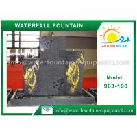Buy cheap Granite Stone Waterfall Water Fountain Outdoor For Garden Decoration from wholesalers