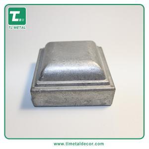 China Manufacture 2 inch 2.5  press fit  Aluminum flat  Cap fence post cap on sale