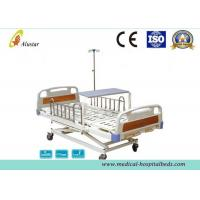 Buy cheap 3 Position Hand Operated Medical Hospital Beds with Stainless Steel Guardrail (ALS-M319) from wholesalers