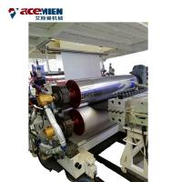 Buy cheap Plastic Floor Sheet SPC Flooring Machine Rigid Vinyl Plank Double Screw from wholesalers