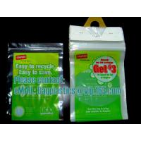 Buy cheap Staples, bags, stapled bags, staple, wicketed poly bags,apparel bags, ice bag, apple bags from wholesalers