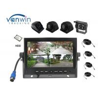 Buy cheap New Arrival 4 Channels High Definition car Monitor 7 Inch Reversing System from wholesalers