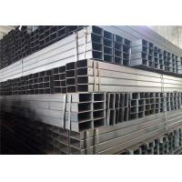 Buy cheap EN 10219 10210 S235JR Thin Wall Rectangular Steel Tubing With Bare Or Painting Surface Treatment from wholesalers