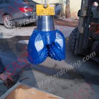 Buy cheap API Tricone drill bit roller rock cone drilling for water and gas well bit from wholesalers
