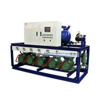 Buy cheap R404a Bitzer piston type refrigeartion compressor unit for 2℃ fruit cold storage from wholesalers