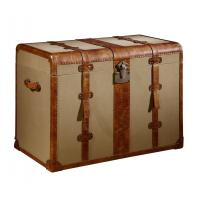 Big Beige Canvas Decorative Storage Chests And Trunks 0