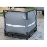 Grey Recycled PVC Liquid Jumbo Bag Stainless Steel Pallet Available 1 Ton / 1000L