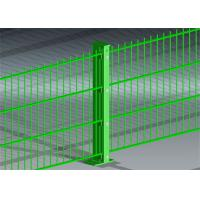 Buy cheap 656 868 Mesh Fence Panels , Double Welded Wire Panels With Great Strength from wholesalers