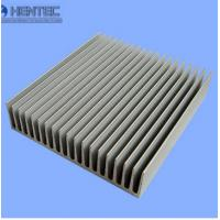 Buy cheap Clear Anodized aluminum heatsink extrusion profiles Painted , Sliver matt from wholesalers