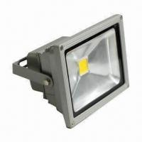 Buy cheap High Power LED Floodlight with 85 to 265V AC Working Voltage, IP65 Waterproof Rate product