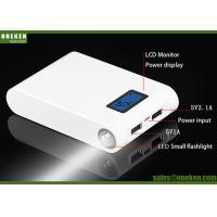 Buy cheap High Capacity 18650 Power Bank , Dual USB Portable Power Bank High Transfer Efficiency from wholesalers