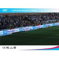 Buy cheap Wall Mounted Soccer DIP Stadium Perimeter Led Display / Baseball Field Advertising from wholesalers