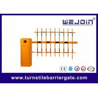 Buy cheap CE Approval Parking Lot Barrier Gate , Outdoor Barrier Road Gate Customized with Aluminum Alloy core from wholesalers