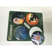 Buy cheap Morph Effct 3D 0.45MM PP Lenticular custom 3d stickers With Offset Printing For product