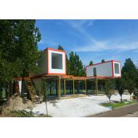 Buy cheap Double Stories Modern Container House , White Container House With External Stairs from wholesalers