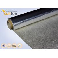 China Aluminum Foil Laminated Fabric For Thermal Insulation Cover, Heat Resistant Curtain, Duct on sale