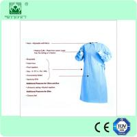 Buy cheap Disposable Sterile Standard Surgical Gown/Reinforced Surgical Gown for Hospital from wholesalers