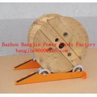 Buy cheap Cable drum jacks/rail type cable drum stands from wholesalers