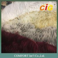 Buy cheap Tip Dyeing Faux Fur Fabric Artificial Faux Fur Imitation Fake Fur Fabric product