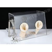 Buy cheap Small Size Durable Vacuum Lab Glove Box / Isolator Chamber With Inert Gases from wholesalers