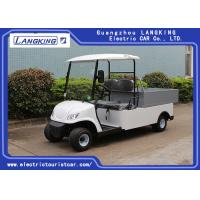 Buy cheap 2 Seaters Electric Club Car , Electric Utility Carts 48V 3KW With Bucket 80km Range from wholesalers