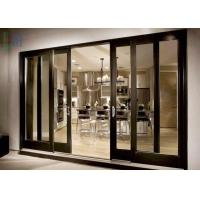 Buy cheap Customized Aluminium Casement Door For Philippines Air-proof from wholesalers