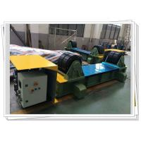 Buy cheap SGS Wind Tower Production Line Manual Trolley Movable Hydraulic Fit Up Rotator from wholesalers