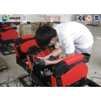 Buy cheap Long Electronic Movie Cinema Equipment 4DM Motion Chair product