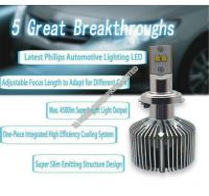 China 9008 9012 H7 LED Headlights Bulbs / Brighter Headlight Bulbs 4500 LM on sale