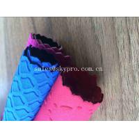 Buy cheap Colorful Professional Flexibly SBR Neoprene Fabric Roll Pattern Non - toxicity Environmental Protection from wholesalers