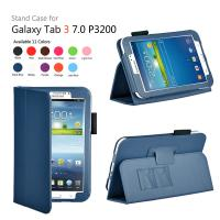 Buy cheap Wallet Leather Samsung Galaxy Tab Protective Case With Built - In Stand from wholesalers
