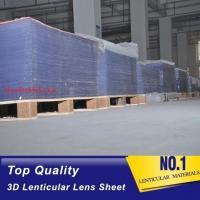 Buy cheap Injekt print / UV print material 75LPI 0.45mm Lenticular Lens Sheet material product
